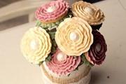 הכנת זר פרחים מעוגיות